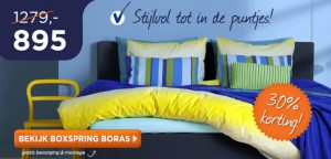 Boxspring Boras - TotaalBED