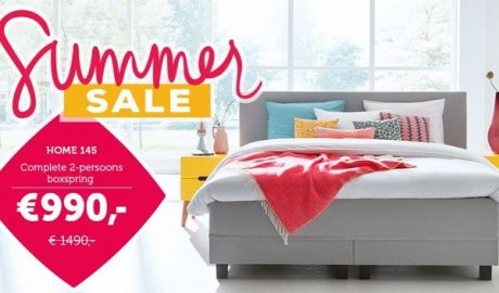 Summer sale bij Swiss Sense